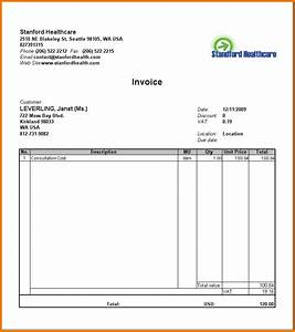 8 food bill format in word financial statement form for Sample bill format in word