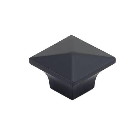 matte black cabinet knobs richelieu hardware 1 1 4 in matte black cabinet knob