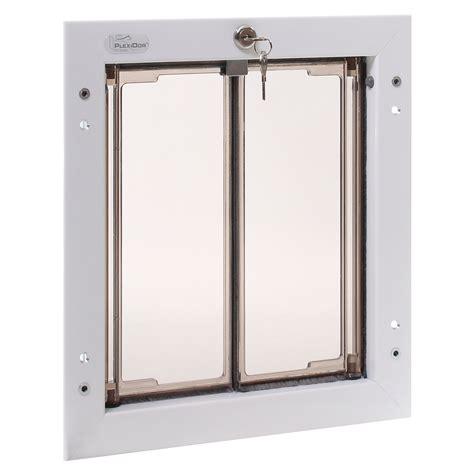 electronic doggie plexidor door mount premium pet doors