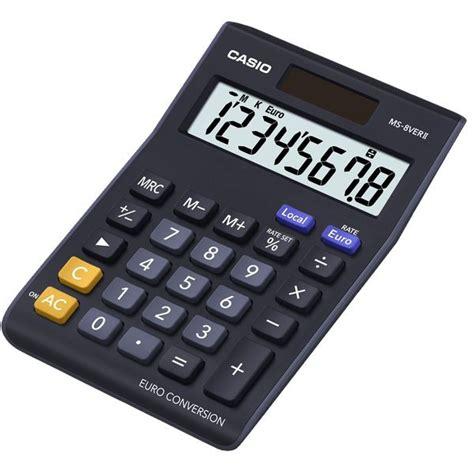 calcolatrice da ufficio calcolatrice da tavolo ms 8ver ii casio ms 8ver ii
