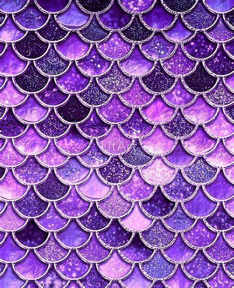 ultra violet sparkle faux glitter mermaid scales ipad