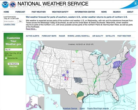 weather bureau troubled national weather service websites among