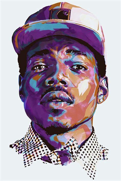 chance  rapper acid rap art poster  hot posters