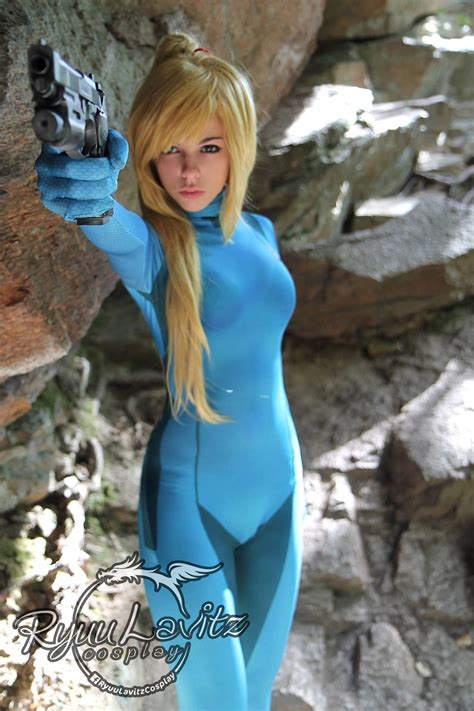 Zero Suit Samus Cosplay By Ryuu Lavitz Zss Metroid