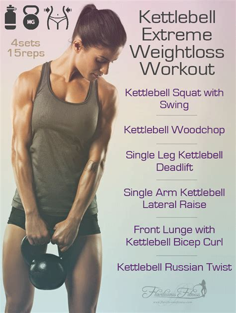kettlebell workout loss weight workouts extreme weightloss fitness body moves