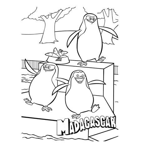 Kleurplaat Pinguins Boomhut by Leuk Voor De Pinguins