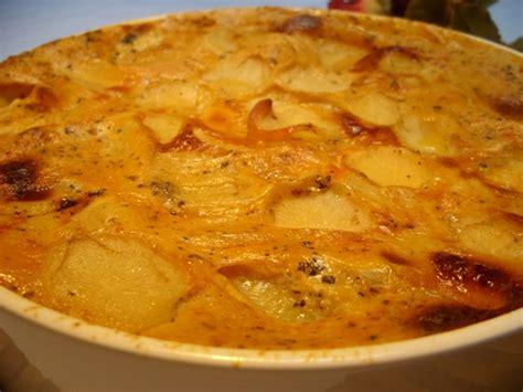 recette gratin facile de pommes de terre recette gratin