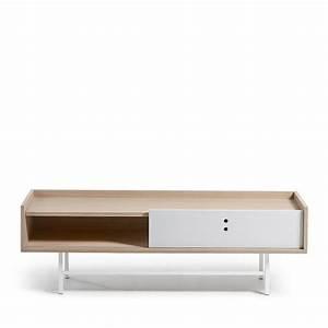 Meuble Style Scandinave : meuble tv scandinave bois porte coulissante celia by drawer ~ Teatrodelosmanantiales.com Idées de Décoration