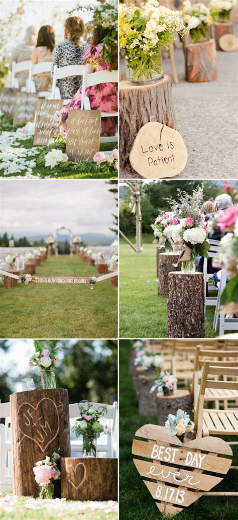 40 great wedding aisle ideas for your big day