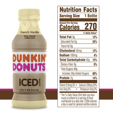 That ought to kick the coziness up a. Dunkin Donuts Medium Frozen Coffee Calories - Image of ...