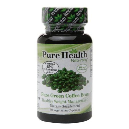 These culinary experts have translated their. Pure Health - Pure Green Coffee Bean Extract (90 capsules) - And YOU Shall Find HEALTH