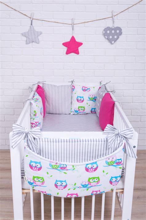 Kissen Für Babybett by Baby Bettw 228 Sche Nestchen Bettset 100x135 F 252 R Babybett