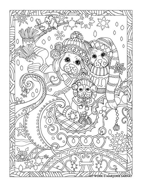 coloring book dogs images  pinterest coloring