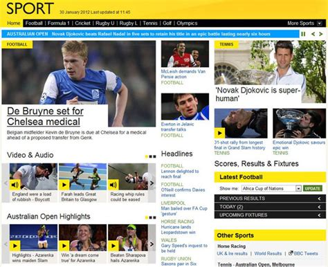BBC Sport Editors: Changes to the BBC Sport website