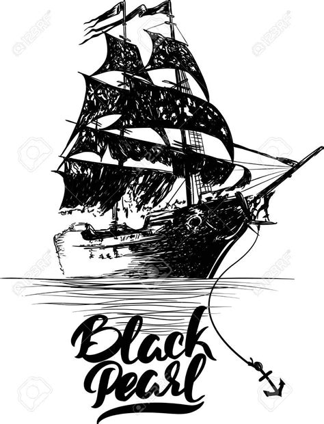 Pin by Ziling on Tattoos   Pirate ship drawing, Pirate