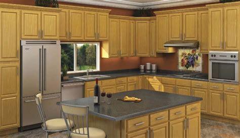 Honey Oak Ready To Assemble Kitchen Cabinets