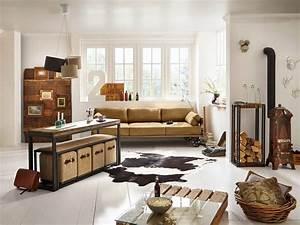 Möbel Industrial Style : sofa im industrie design auf r dern massivholzm bel bei ~ Indierocktalk.com Haus und Dekorationen