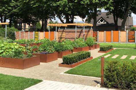 Garten Gestalten Paderborn by Gartengestaltung Cortenstahl Saw Stahl Und Anlagenbau