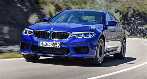 M5 Pricing by Leaked Options List Confirms 102 600 Price For 2018 Bmw M5