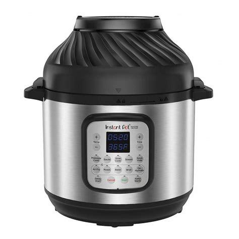 fryer air cooker pressure pot instant duo crisp combo qt ninja quart cooking lid foodi frying tire pots canadian vide