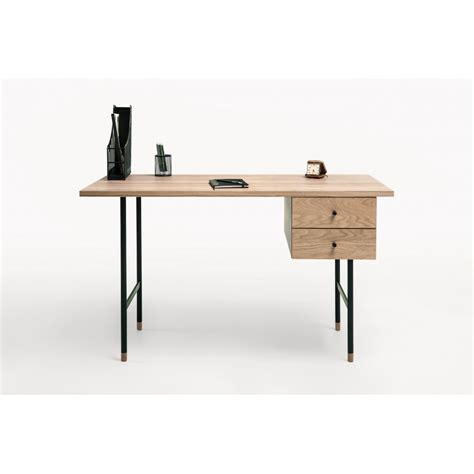bureau bois et metal bureau design bois et métal jugend by drawer