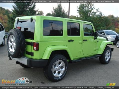 jeep unlimited green 2013 jeep wrangler unlimited sahara 4x4 gecko green pearl