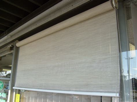 porch glass screen shade abc awning venetian blind corp