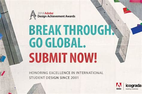 adobe design achievement awards 2014 adobe design achievement awards win up to us 5 000