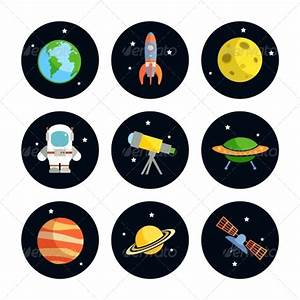 Space Icons Set | GraphicRiver