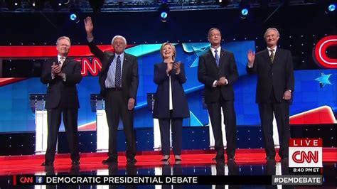 democratic primary debate october    cnn