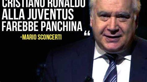 panchina juventus sconcerti ronaldo panchina juventus la verit 224 sulla frase