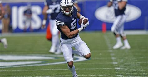 BYU football: Cougars' three talented receivers are coming ...