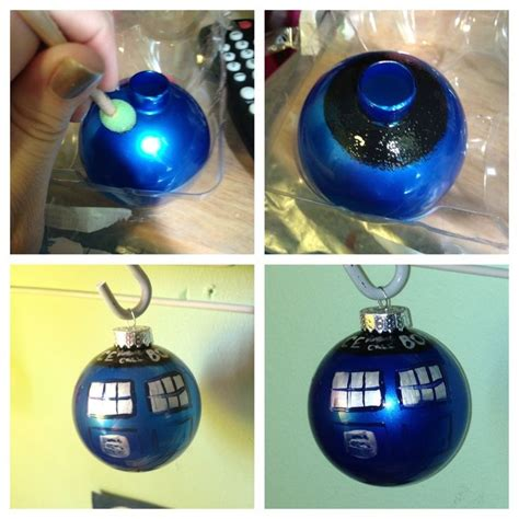 Doctor Who Weihnachtsschmuck by Tardis Ornament Diy
