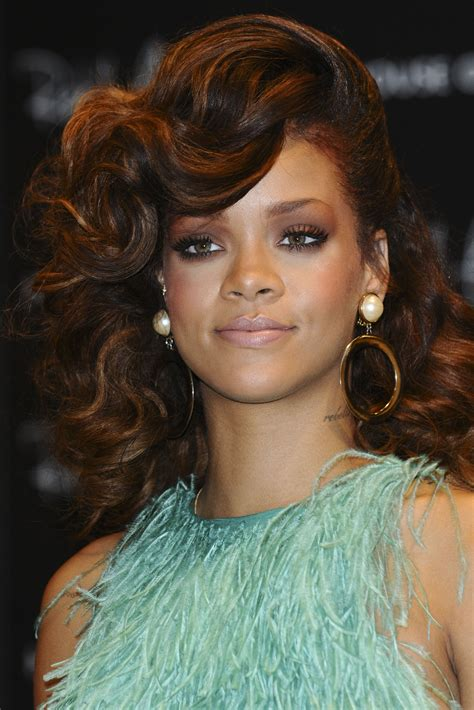 Rihanna Hairstyles Hair by Rihanna Curly Hairstyles Fade Haircut