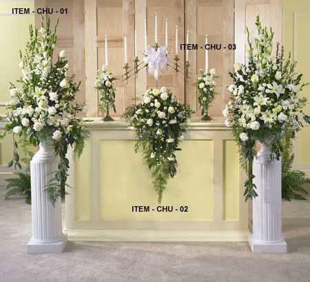 wedding flowers part iii ceremony flowers reception