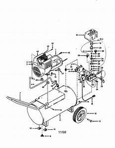 Campbell Hausfeld Wl600605 Air Compressor Parts