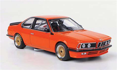 Bmw 635 Csi Miniature Gra Orange Plain Body Version