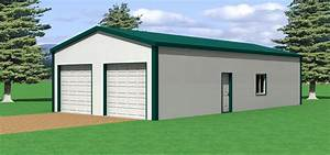 40 x 40 metal building With 24x40 pole barn plans