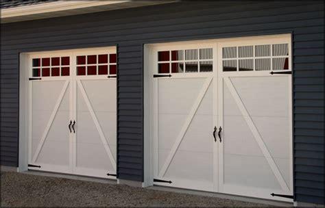 carriage garage doors pimp your garage door with these diy makeover ideas