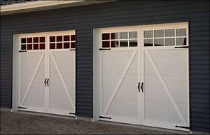 Pimp your garage door with these diy makeover ideas for Carriage style garage doors kit