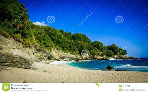 Plaka Beach Pelion Greece Stock Photo Image 51107182