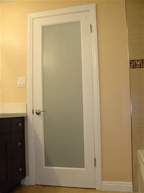 bathroom door frosted glass glass bathroom and doors on