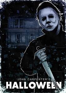 Michael Myers Halloween Poster by liquid-venom on DeviantArt