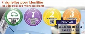 Certificat Qualité De L Air : crit air le certificat qualit de l air pour favoriser les v hicules moins polluants ~ Medecine-chirurgie-esthetiques.com Avis de Voitures