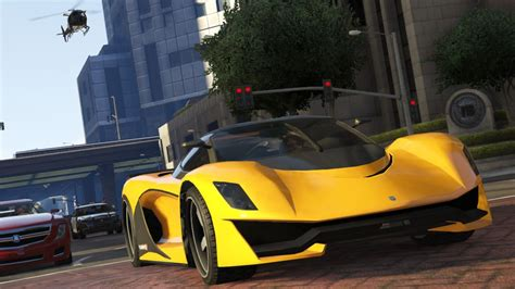 The Fastest Cars In Gta Online