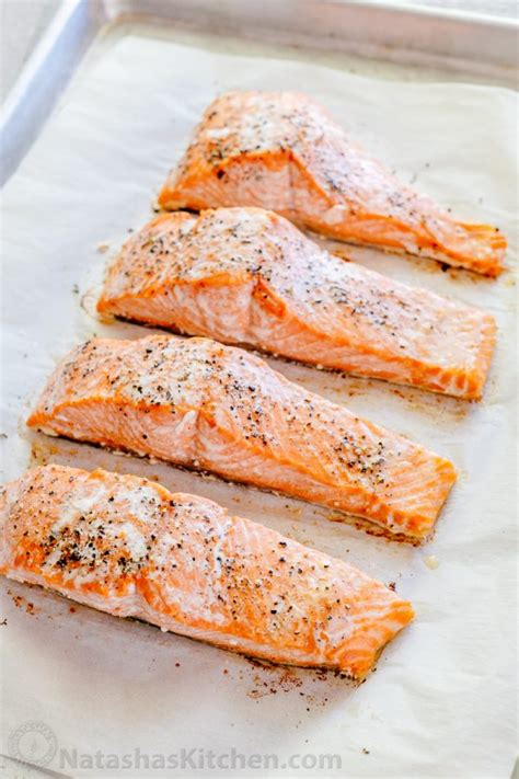 bake salmon oven baked salmon with lemon cream sauce