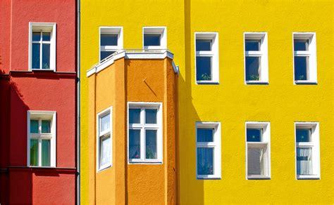 Fassade Gestalten by Hornbach Bunte Bauelemente