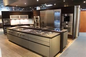 kitchen island with drawers gaggenau pro kitchen modern kitchen miami by
