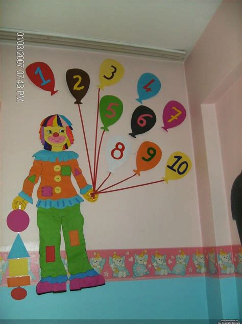 20 best collection of preschool wall decoration wall 249 | prescholl wall decorations funnycrafts inside preschool wall decoration