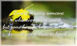 Cute Quotes About Missing Someone. QuotesGram